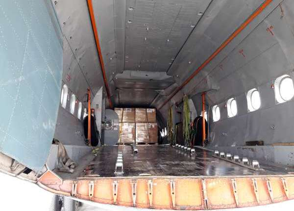 Ad Hoc Air Charter AN-12 Freighter