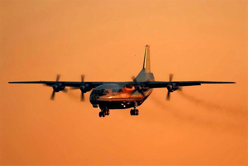 Air Charter AN-12 Cargo Freighter