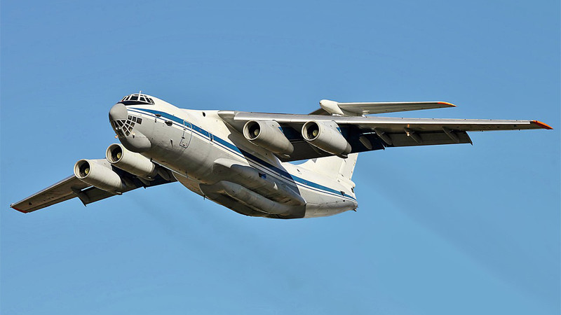 Ad Hoc Air Charter IL-76 Freighter