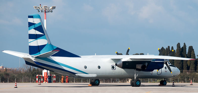 AN-26 Ad-Hoc Charter from Middle East