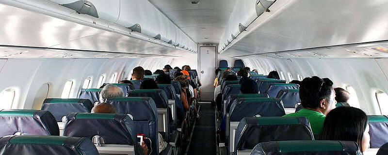 ATR-72-500 Airliner for Lease ACMI (Interior Example)